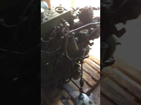 Заводим двигатель Mercedes 809 ОМ364. 4.0 простой дизель с воздушным компрессором