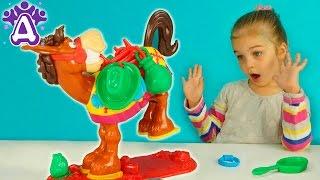 Лошадка Букару игры для детей распаковка. Buckaroo Game Games for children Видео для детей. Новинка