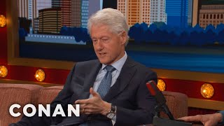 President Bill Clinton's Early Work As A Grocery Store Stocker