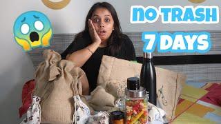 I tried to go zero waste for a week🤦| gopsvlog