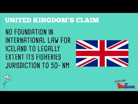 INT. LAW - FISHERIES JURISDICTION UK V ICELAND