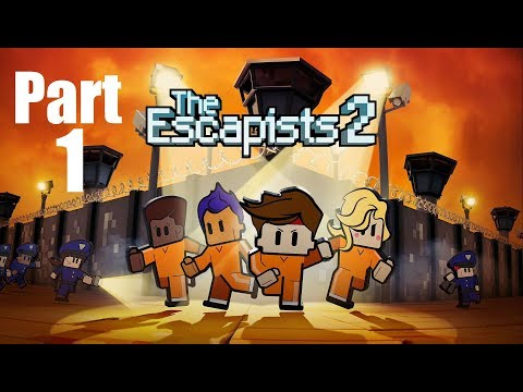 The Escapists 2 Walkthrough Gameplay Part 1