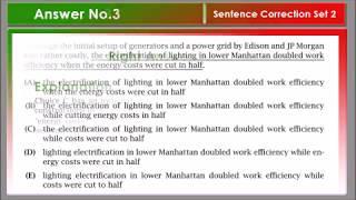 ENGLISH SENTENCE CORRECTION SET 2 | Best practice exercise |Amazing Explanation