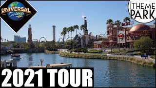 Universal Orlando Resort 2021 4K Tour Universal Studios Islands of Adventure Volcano Bay & CityWalk