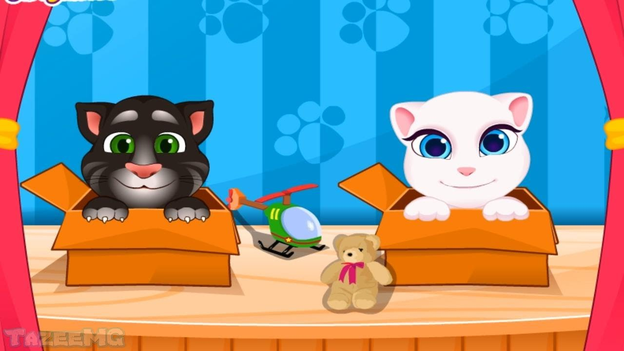 Talking Angela And Tom Cat Babies Gameplay