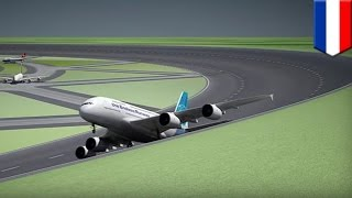 Circular runway airports  Dutch researchers propose circular runways for future airports   TomoNews