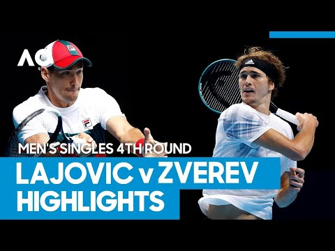 Dusan Lajovic vs Alexander Zverev Match Highlights (4R) | Australian Open 2021