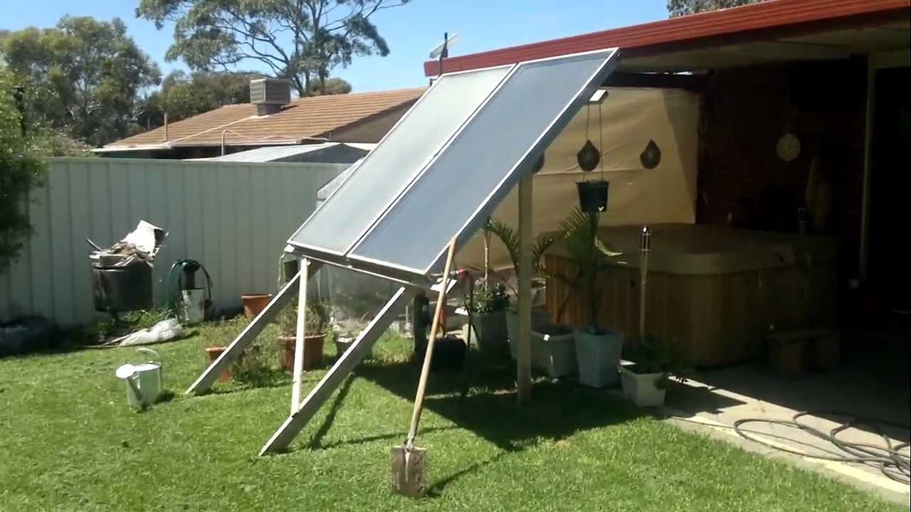 Solar Spa Heater Youtube