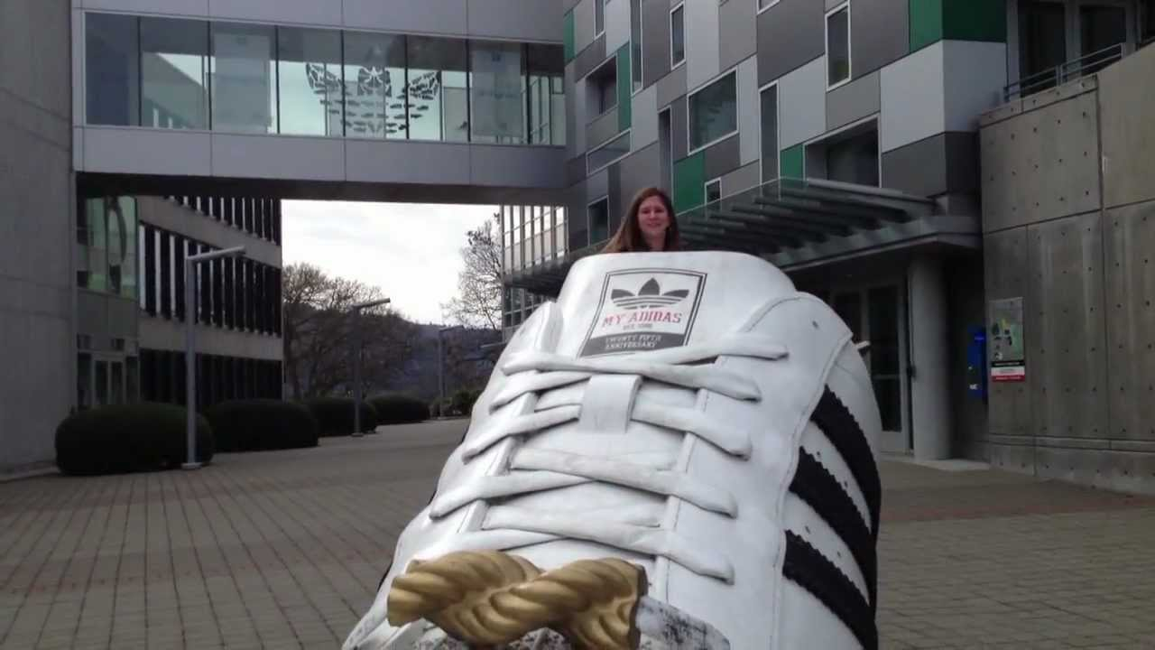 the latest f6655 8c9f0 Adidas Campus in Portland (WillVlog 3-24-13) - YouTube