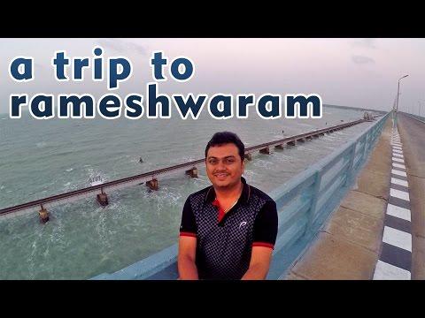 Rameshwaram Temple And Paamban Bridge