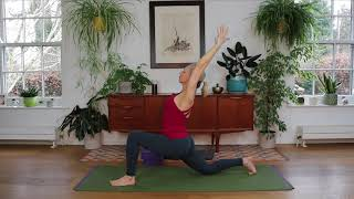 A relaxing Mother's Day Yoga sequence