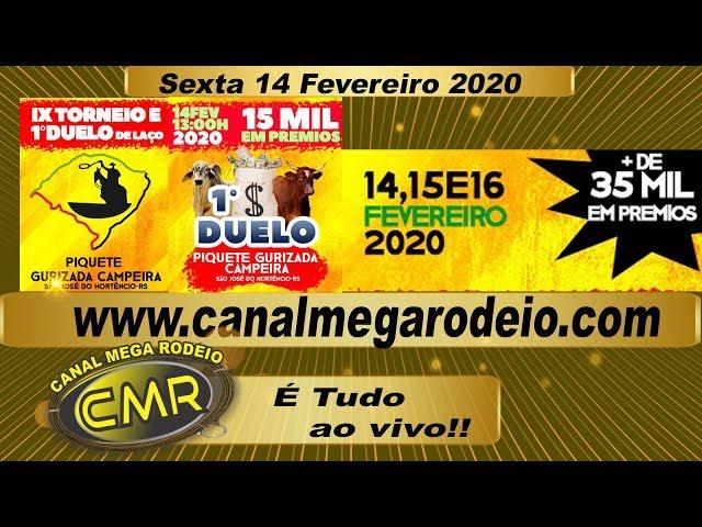 IX Torneio e 1º Duelo De Laço 14 de fevereiro de 2020 - São Jose do Hortencio-RS