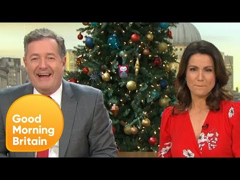 Piers Applies to Be President Trumps Chief of Staff   Good Morning Britain