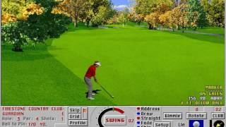 Links: Championship Course - Firestone Country Club (Access) (MS-DOS) [1991] [PC Longplay]