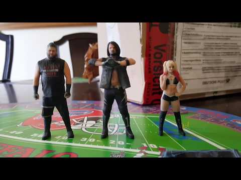 New Staramba 3D WWE Figures