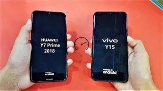 Vivo Y15 vs Huawei Y7 Prime (2018) - Speed Test!