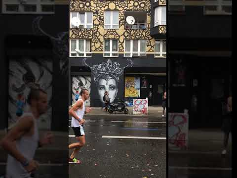 Berlin Marathon -  Bülowstrasse -  Urban  Nation Streetart