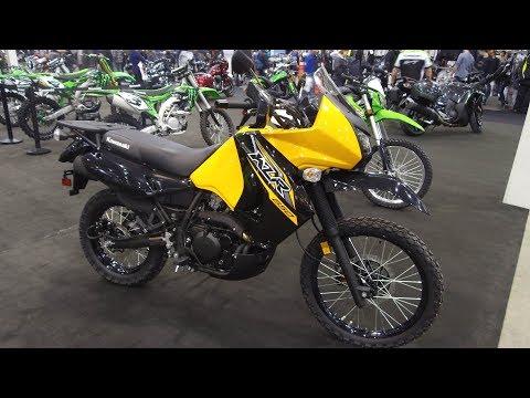 2018 Kawasaki KLR 650 - 2018 North American International  Motorcycle Supershow