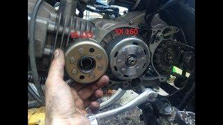 Установка генератора с мотора YX 140-160 на мотор ZS 155