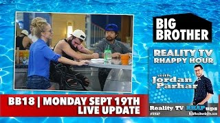 Big Brother 18 RHAPpy Hour | Big Brother 2016 BB18 Live Feeds Update | Monday, September 20, 2016