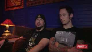 FRET12 Artist Connect with Matt and Corey from Trivium // (Part Two) HD