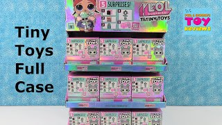 LOL Surprise Tiny Toys Full Case Opening Blind Bag Toy Review   PSToyReviews