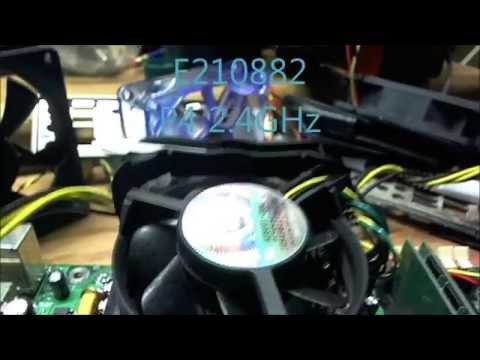 TESTING INTEL E210882 MOTHERBOARD P4 2.4GHz