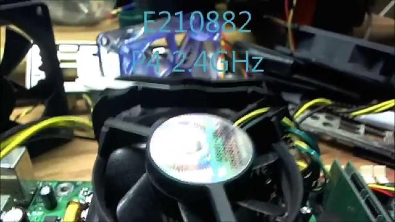 testing intel e210882 motherboard p4 2 4ghz youtube rh youtube com Foxconn N15235 User Manual MCP61PM-HM Manual