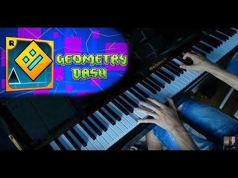 Back on Track - Geometry dash - piano