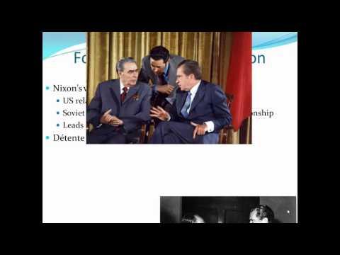 APUSH Review: The Presidency of Richard Nixon