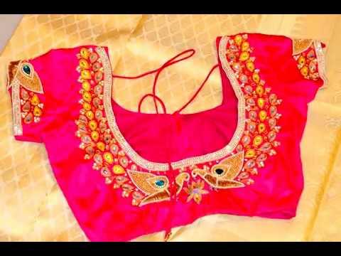 Designer Blouse Design For Girls