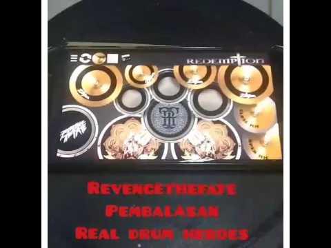 Revenge the fate - Pembalasan (real drum cover)