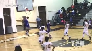 DUNK SHATTERS the BACKBOARD! High Schooler Isaiah Banks SHATTERS the Glass with his DUNK | TeamFlightBrothers