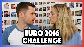 One of Spencer & Alex's most viewed videos: EURO 2016 CHALLENGE!