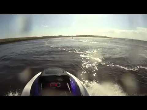 Gopro 13 year old on yamaha 800cc jetski