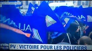 PARIS : PV, VICTOIRE POUR LES POLICIERS