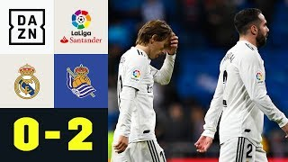 vuclip Königliche im eigenen Palast geschockt: Real Madrid - Real Sociedad 0:2 | LaLiga | DAZN Highlights
