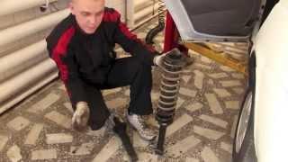видео Амортизатор подв. прицепа (пр-во Wabco) 4386010730
