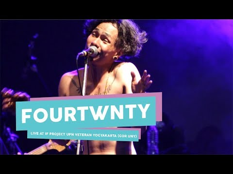 [HD] Fourtwnty - Fana Merah Jambu (live at IF PROJECT, GOR UNY, September 2017)