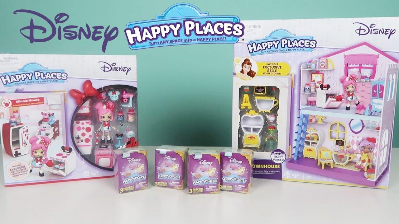 Disney Happy Places Shopkins | Unboxing Happy Townhouse ...