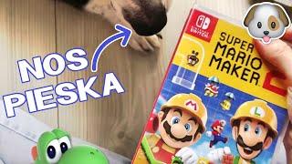 ✂️ Najbardziej WYNIUCHANY unboxing z moim piechem | Super Mario Maker 2 ⭐️
