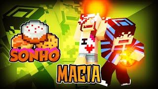 Minecraft : O Sonho! #62 - Aprendendo magias!