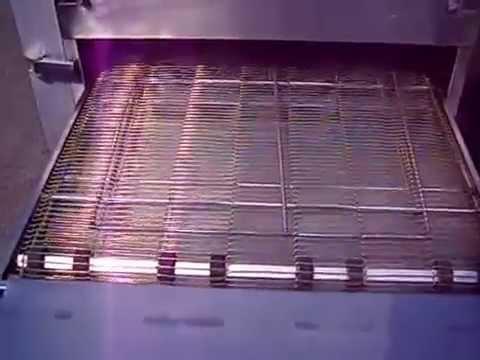 Lincoln Impinger Conveyor Belt Pizza Oven 1116 Youtube