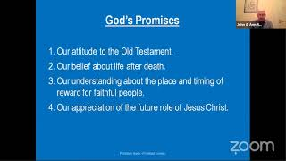 Gods Promises: A basis for living