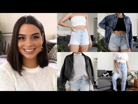 HUGE Try-On Clothing Haul | Wardrobe Staples