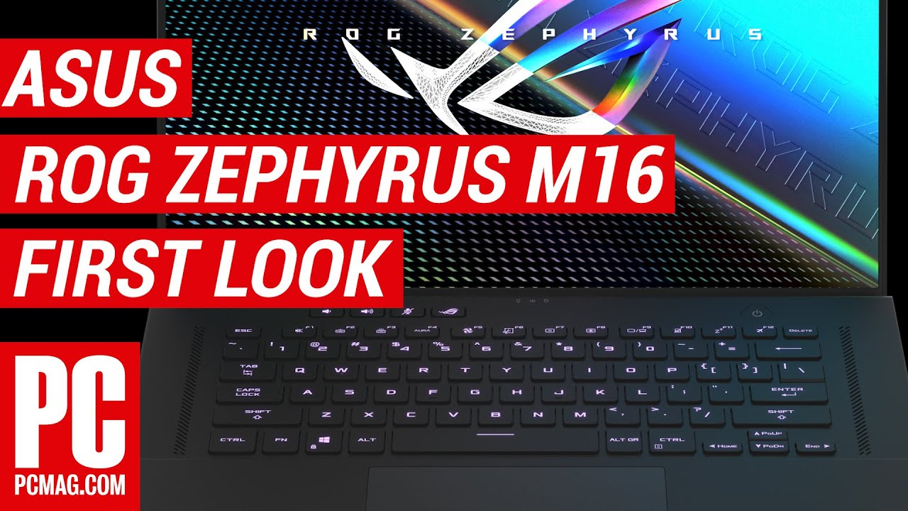 Asus ROG Zephyrus M16 First Look: A Gaming Screen at...16 Inches? - YouTube