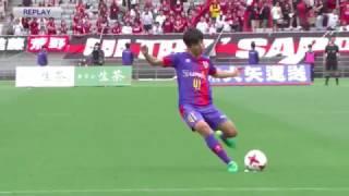 小野伸二が絶賛!15歳久保の「J1初フリーキック」は惜しくもゴール外