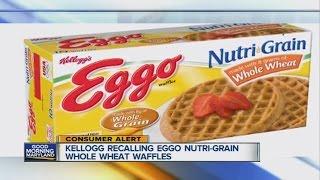 Kellogg recalling 10,000 Eggo Waffles