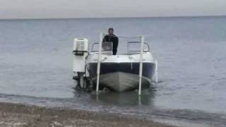 Boat Launching Fully remote controlled with thebeachlauncher.com