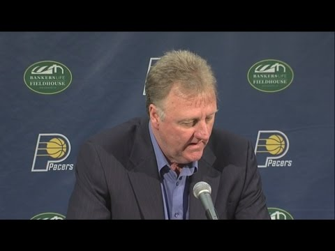 RAW VIDEO: Pacers' Bird, Vogel recap end of season